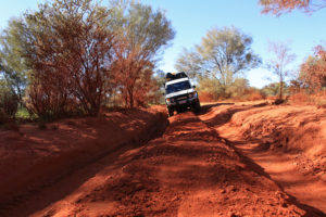 Getting to the dead centre of the Red Centre doesn't seem to be encouraged