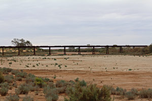 Ghosts of the great Ghan railway line can be found all along the Track