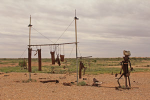 Laundry day is hardcore in the outback