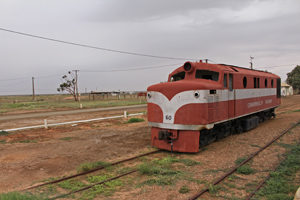 Memories of another age when the great Ghan still ran from Marree
