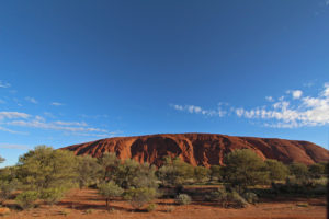 One of the many faces of Uluru