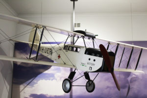 A model of the first plane