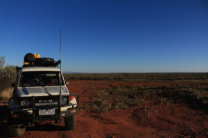Our first camp spot on the Tanami Track