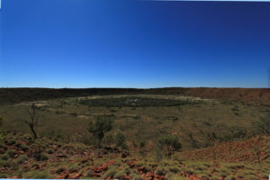 The second largest meteorite crater in the world